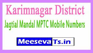 Jagtial Mandal MPTC Mobile Numbers List Karimnagar District in Telangana State