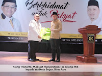 "Walikota Bogor Kagumi Program ""GREEN IS ME"" PKS"