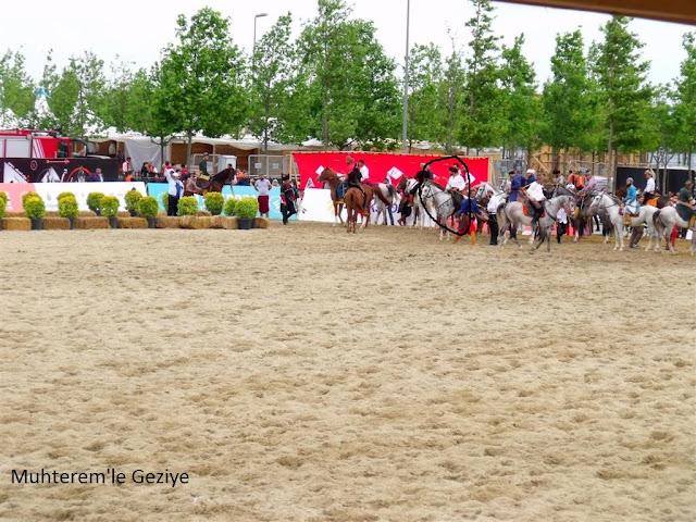 atlı okçuluk yarışlarında Cemal Hünal