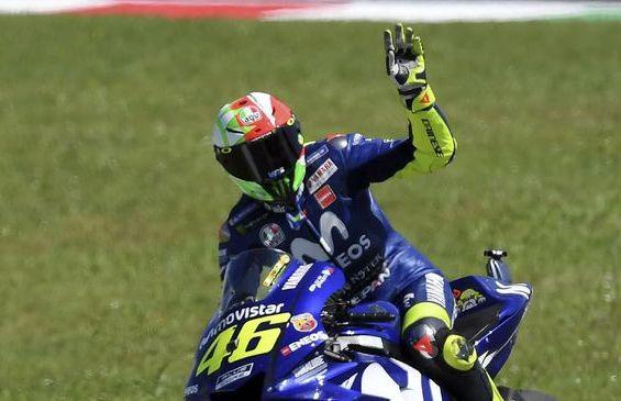 Hasil Lengkap, MotoGP Italia 2018, Rossi Podium 3