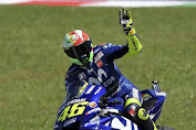 Hasil Lengkap MotoGP Italia 2018, Rossi Podium 3