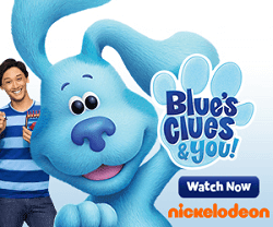 Watch Blue's Clues & You! on Nickelodeon!