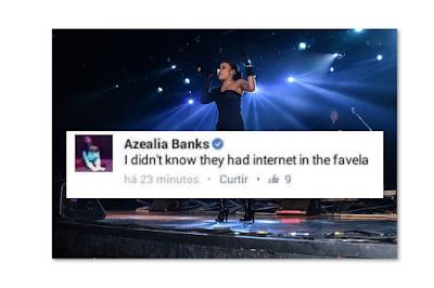 Azealia Banks Brazil