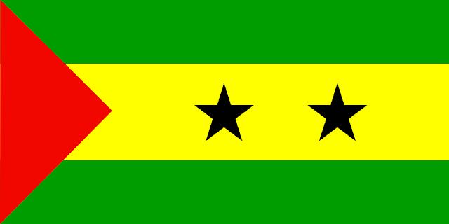 Bandera de Santo Tomé y Príncipe