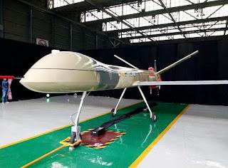 Drone Tempur Elang Hitam