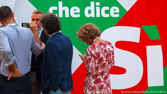 Η Ιταλία περιμένει τώρα τον πολιτικό σεισμό.