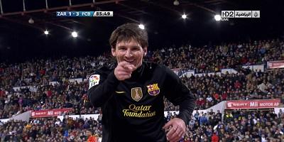 LFP-Week-32 : Zaragoza 1 vs 4 Barcelona 07-04-2012