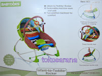Baby Bouncer BabyDoes CH-BB762 Infant to Toddler Rocker