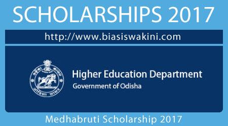 Medhabruti Scholarship 2017