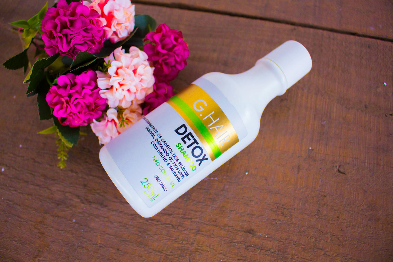 Resenha: Shampoo e Condicionar Detox da G. Hair