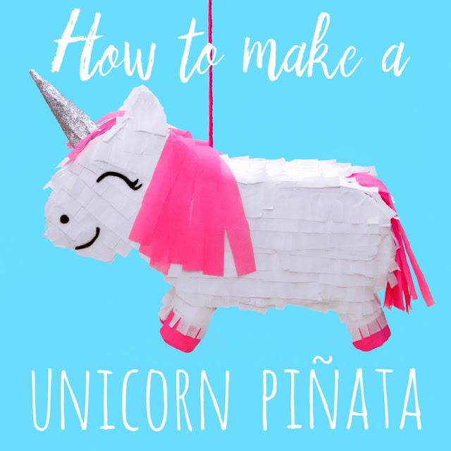 How to make a DIY unicorn pinata
