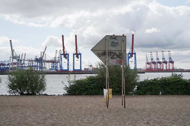 Hamburg Photo Diary August 2017: Elbstrand und Hafen