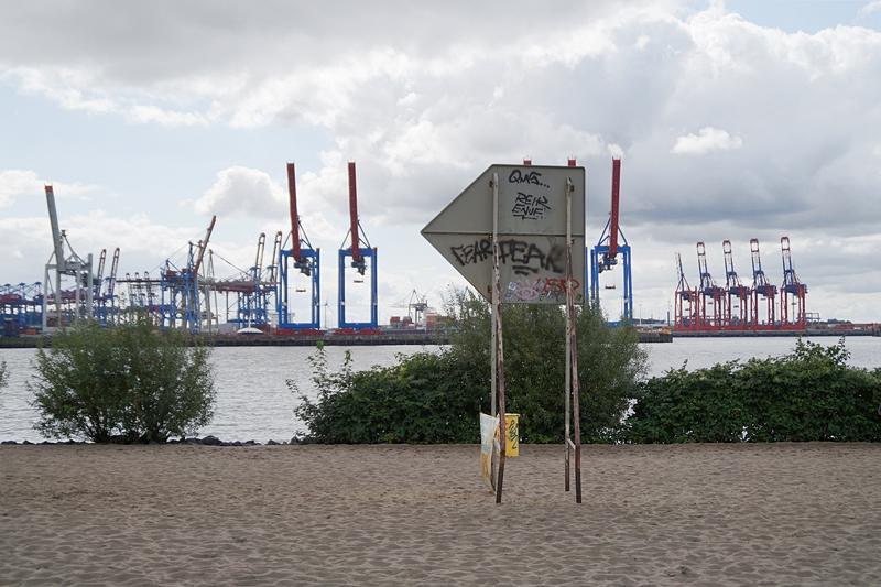 Hamburg Photo Diary August 2017: Elbstrand und Hafen