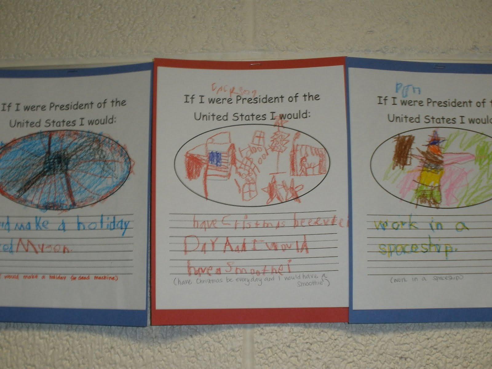 If I Were President Worksheet Ideas