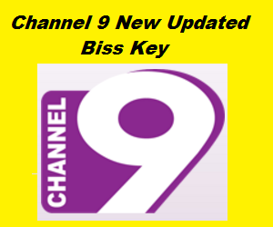 Channel 9 New Updated Biss Key on Apstar 7