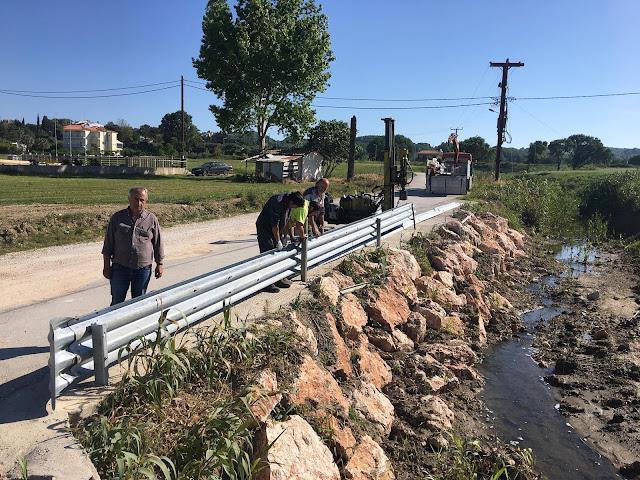 Πρέβεζα: Συνεχίζονται οι παρεμβάσεις για την οδική ασφάλεια στην Δ.Ε. Ζαλόγγου