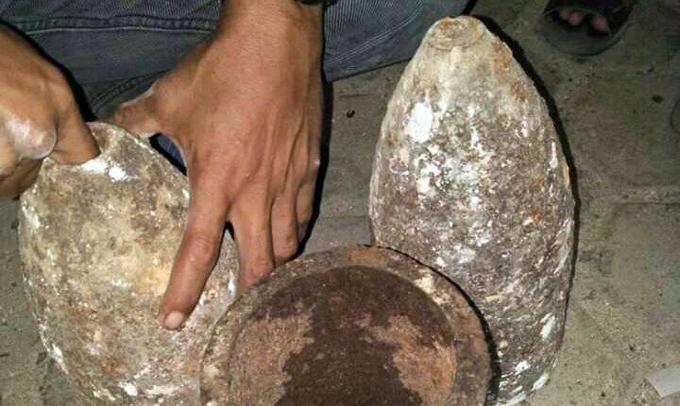 Penemuan Benda Diduga Mortir Gegerkan Warga Sinjai