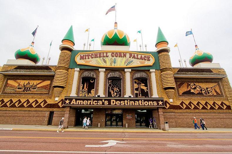El Palacio del Maíz de Mitchell | Estados Unidos