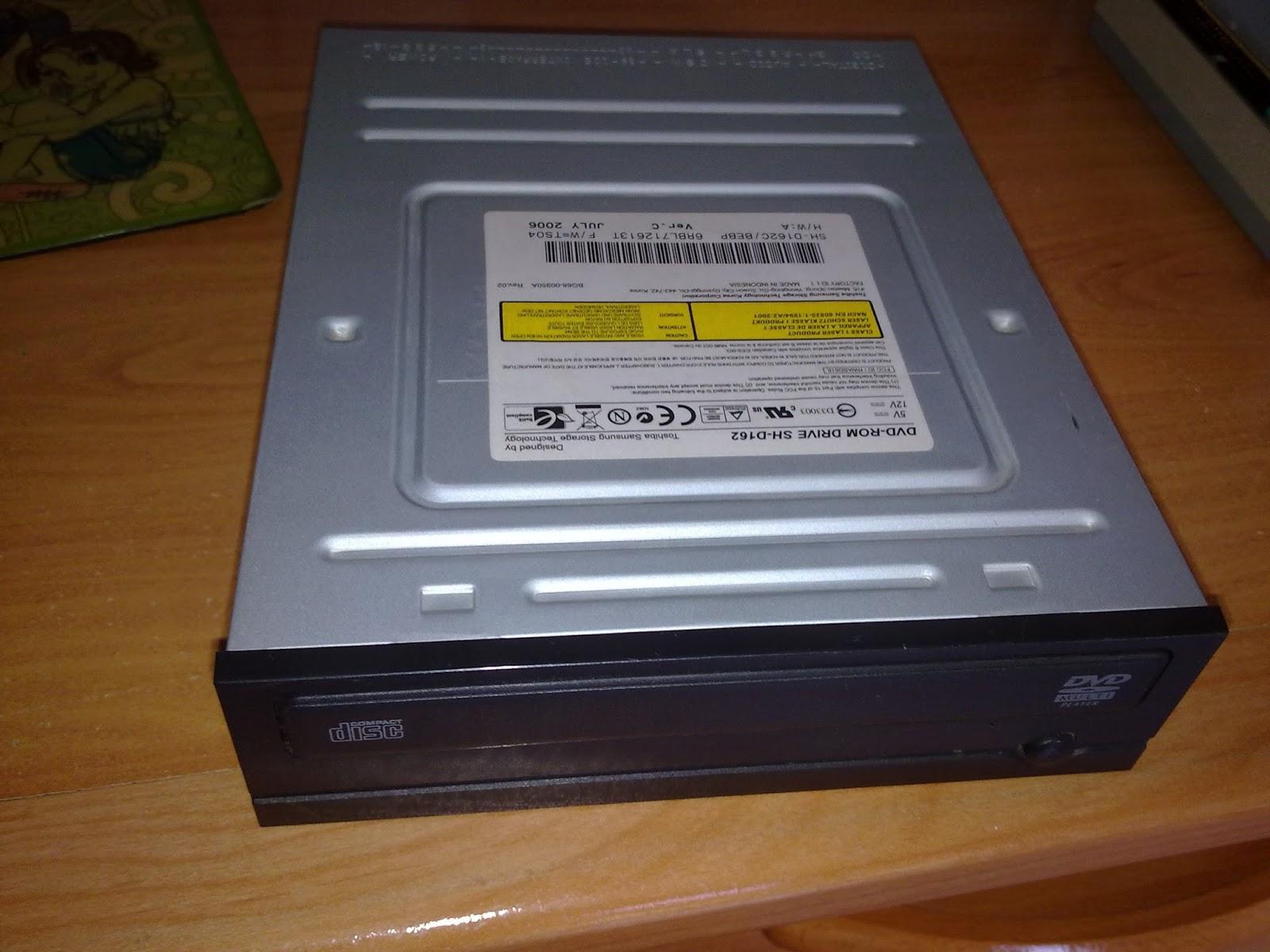 Desyrepara Lector Grabador Dvd