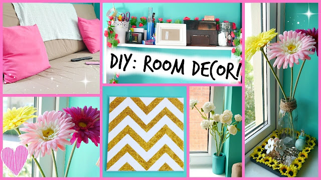 Looking for creative decor for your teen's room? Check these 50 DIY decoration ideas project for teens like-lights, wall arts accessories, rug and more. The materials you just find around inside of your house or you can say recycle materials so no need to expend more money. With this project, your room will become boring to wow!.
