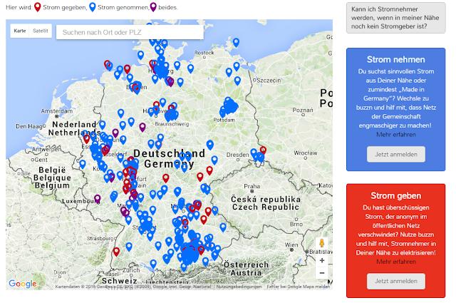 """Strom teilen - mit dem """"Nachbarn"""" - mit Gemeinschaftsstrom von Buzzn"""