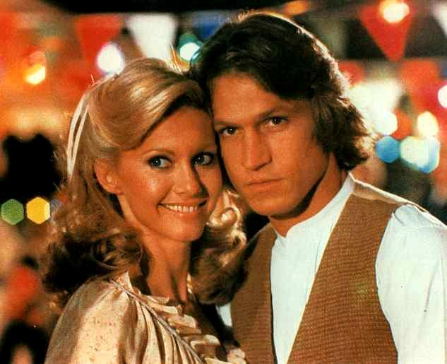 Olivia Newton-John and Michael Beck in Xanadu 1980