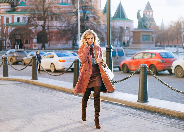 red_coat_denim_shirt_margarita_maslova_street_look