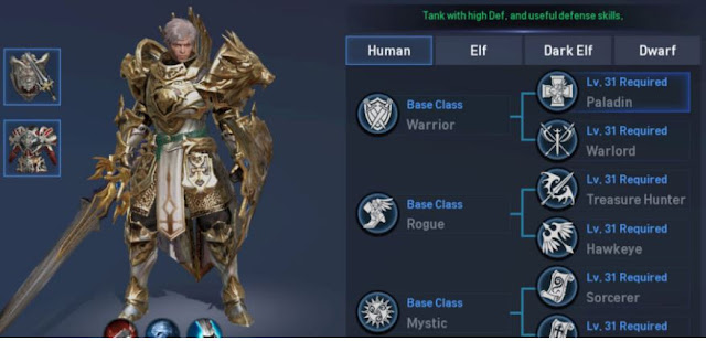 guide dan skill build paladin di lineage 2 revolution