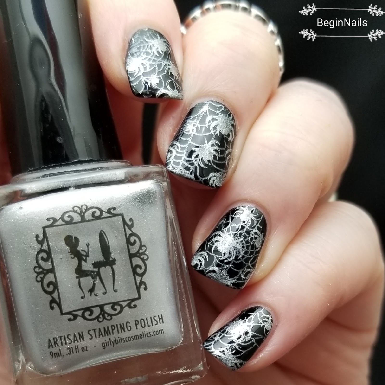 Lets Begin Nails It Girl Nail Art Ig121 Plate Review Part 2