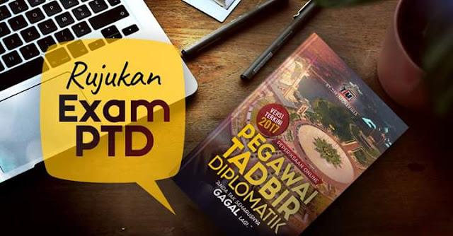 Download Pakej Rujukan Peperiksaan PTD M41 Terkini!