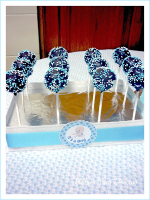 cakepops baby shower