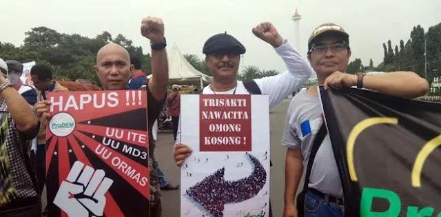 ProDEM: Tanah Dibagi-bagi Jokowi Tanpa Orientasi, Negara Ini Bisa Tidak Ada Lagi