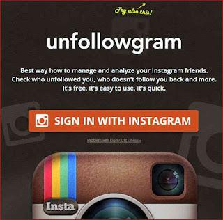 cara mengecek daftar unfollower instagram