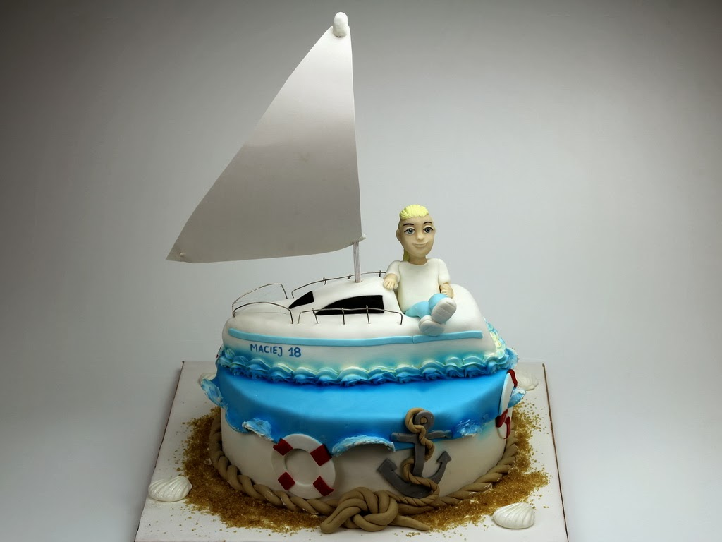 18th Birthday Cake for Sailor, London