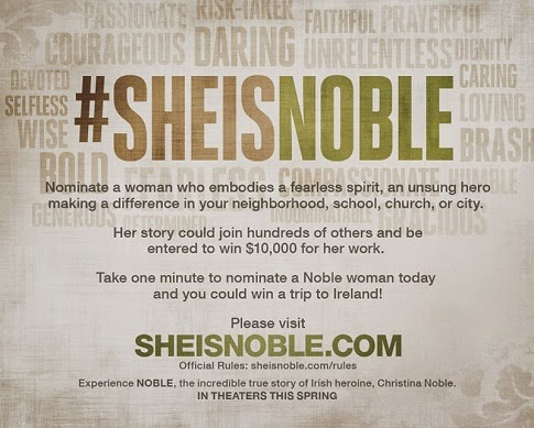 #sheisnoble giveaway graphic