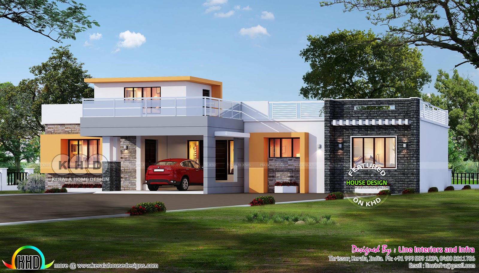 3 Bhk Flat Roof Single Floor Home 2200 Square Feet