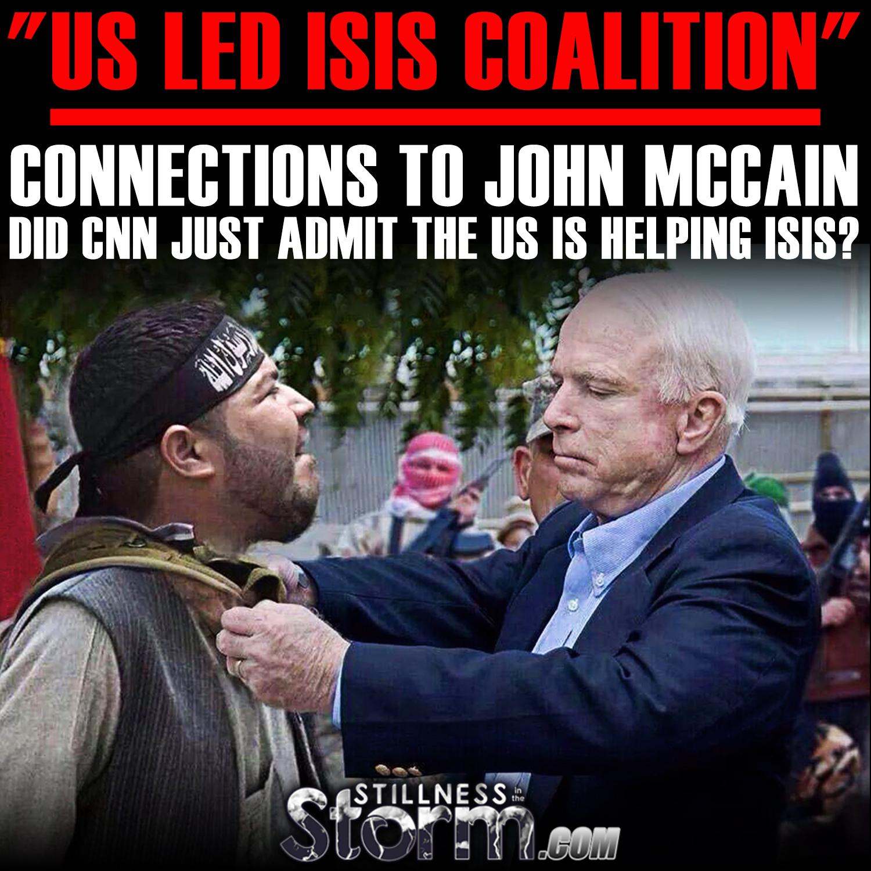 Afbeeldingsresultaat voor The coalition and the US sponsoring ISIS