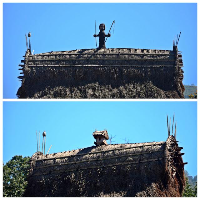 Tejados del pueblo Ngada de Luba en Flores, Indonesia