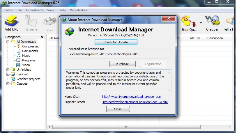 Internet download manager 631 build 5 patch crack full whats new in version 623 build 12 stopboris Gallery