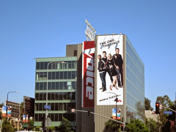The Voice season 7 giant billboard