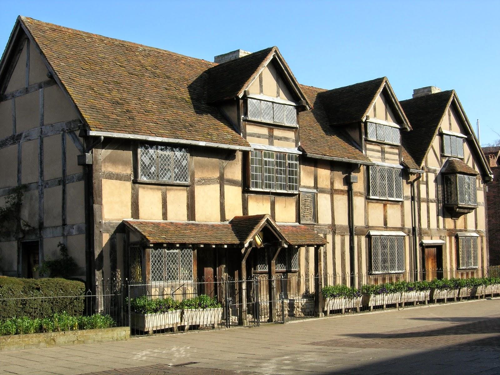 Shakespeares Birthplace Stratford On Avon
