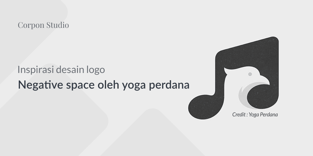 Inspirasi Logo Negative Space