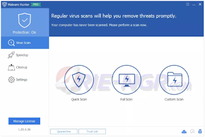 Glarysoft Malware Hunter Pro 1.37.0.69 Full Terbaru