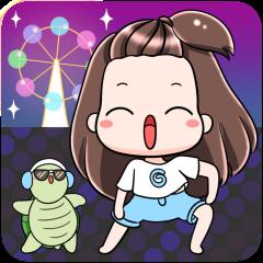 Gyoza Pop-Up Stickers