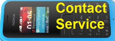Nokia 105 RM-1133 contact service Solution