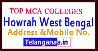 Top MCA Colleges in Howrah West Bengal