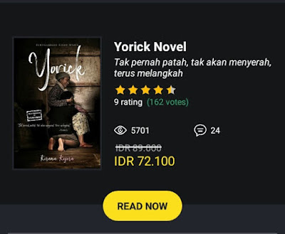 novel yorick