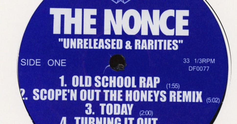 VINYL 12 HIP-HOP RAP!: The Nonce - Unreleased & Rarities EP