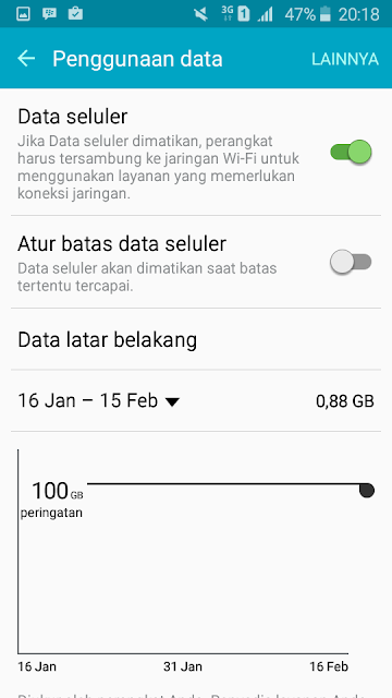 Cara Menghemat Data Internet dan Baterai Pada Android
