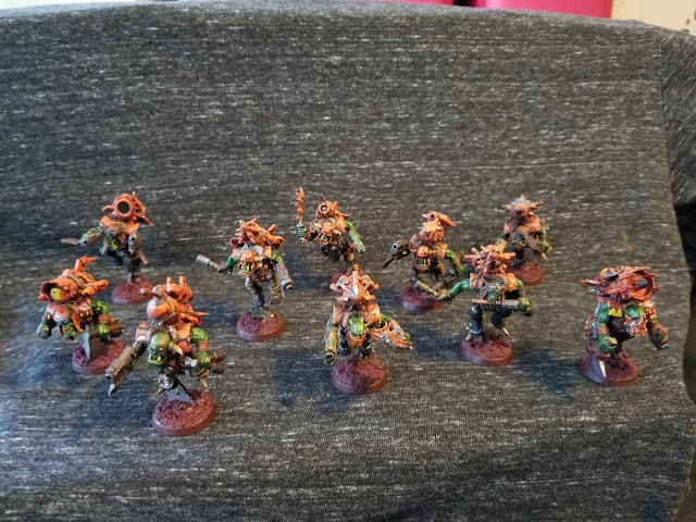 What's On Your Table: Orks, Da Vulcha Sqwad!